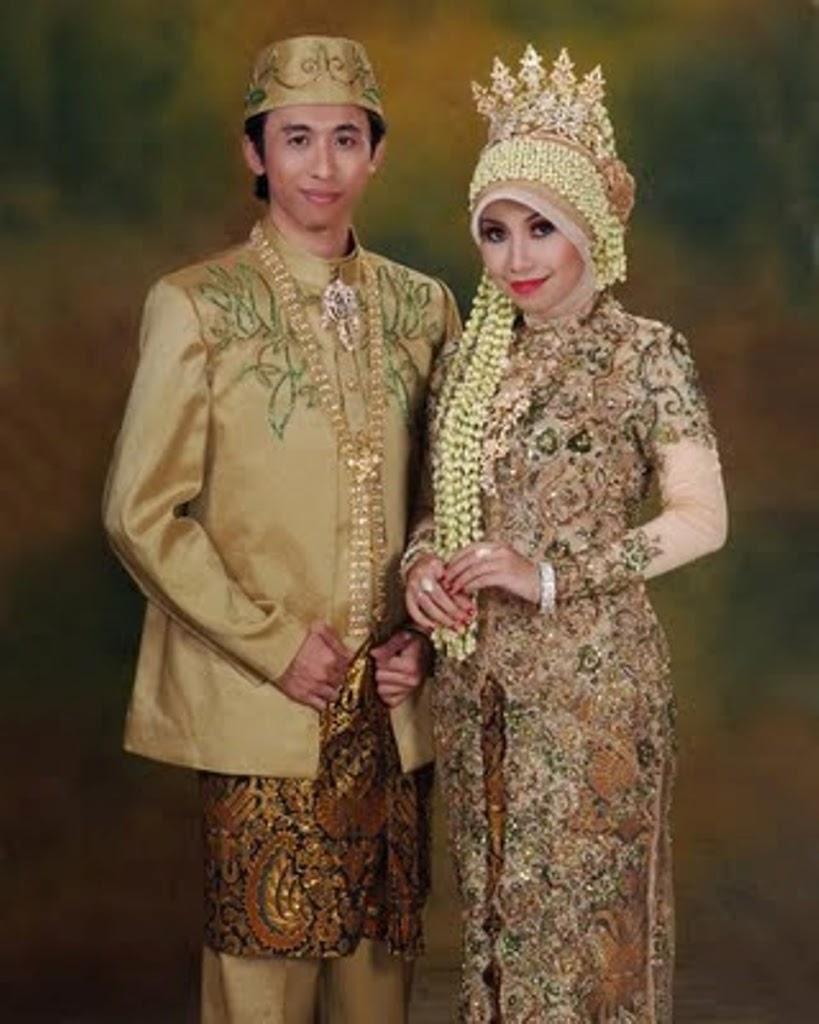 Baju Kebaya Muslim Pengantin Jawa
