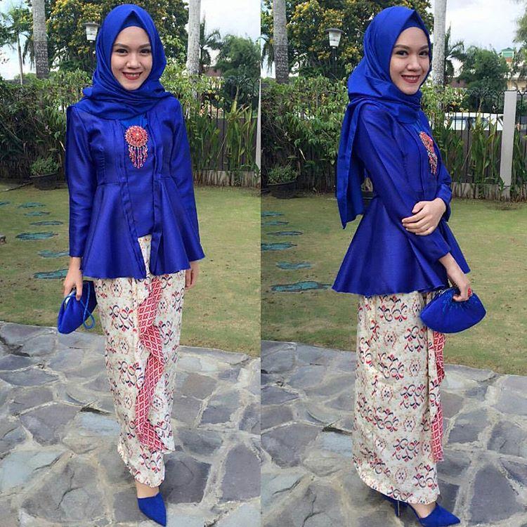 Model Rok Kebaya Muslim Modern Paling Trendy